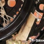 015 1913, Excelsior - drewniany klocek hamulca