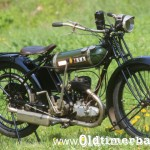 1924, BSA model B Round Tank, 250 ccm, 3,5 PS 146