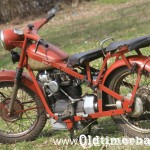 1953, Nimbus model Spezial, 746 ccm, 22 KM 113