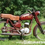1962, WFM model M06-125, 123 cc, 4,5 KM 17