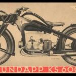 001 Zundapp KS600 - strona lewa