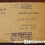 1962, Junak M10, 349 ccm, 19 KM 030
