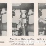 1936 NSU-D 201 OSL oryginalny kranik - instrukcja