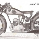 NSU-D 201 ZDB (1938-1940) z instr warszt