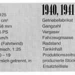 1940-41 RT 125 dane