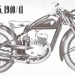 1940-41 RT 125 motor
