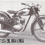 1954-55 RT 125-2H motocykl