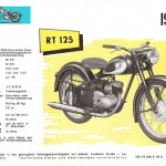 1955-56 RT 125 motocykl