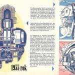 1955 RT 125 silnik