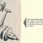 1955 RT 125 tłok i wał korbowy