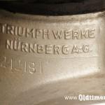 Triumph S350, 346 ccm, 12 KM, 1937 Nr 14