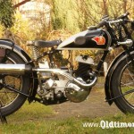 Triumph S350, 346 ccm, 12 KM, 1937 Nr 34