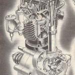Rudge silnik 500 cc