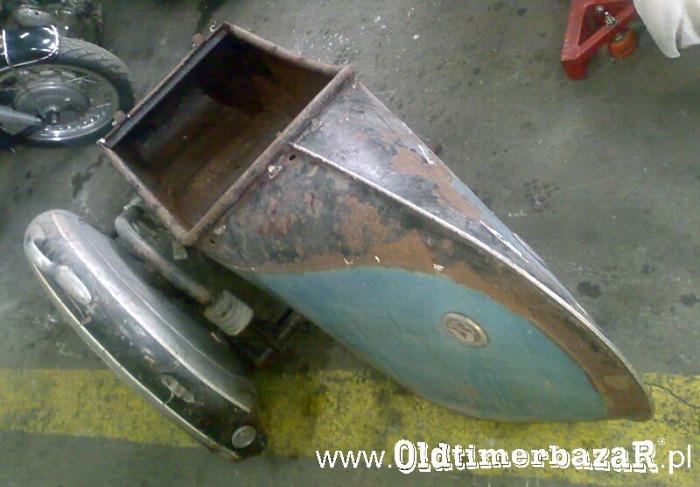 Stoye z klinem - wózek boczny