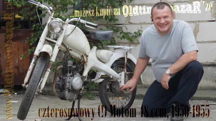Motom - czterosuwowa (!) pięćdziesiątka