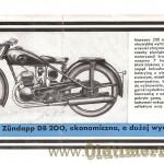 Zundapp prospekt 1938 foto 01 DB200