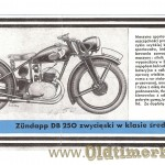 Zundapp prospekt 1938 foto 02 DB250