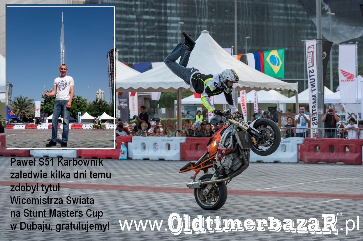Paweł S51 Karbownik Dubaj Stunt Masters Cup