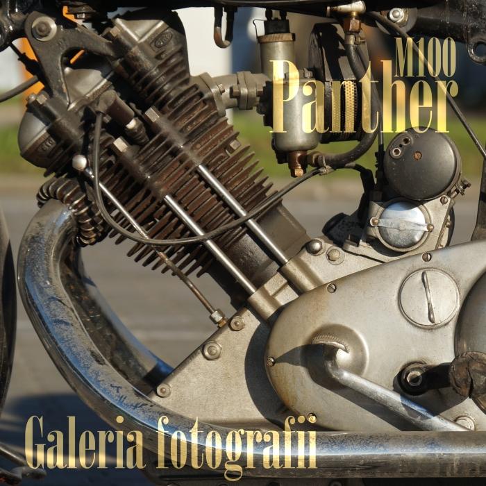 Na sprzedaż: Panther M100, 1953, 598 ccm, 23 KM