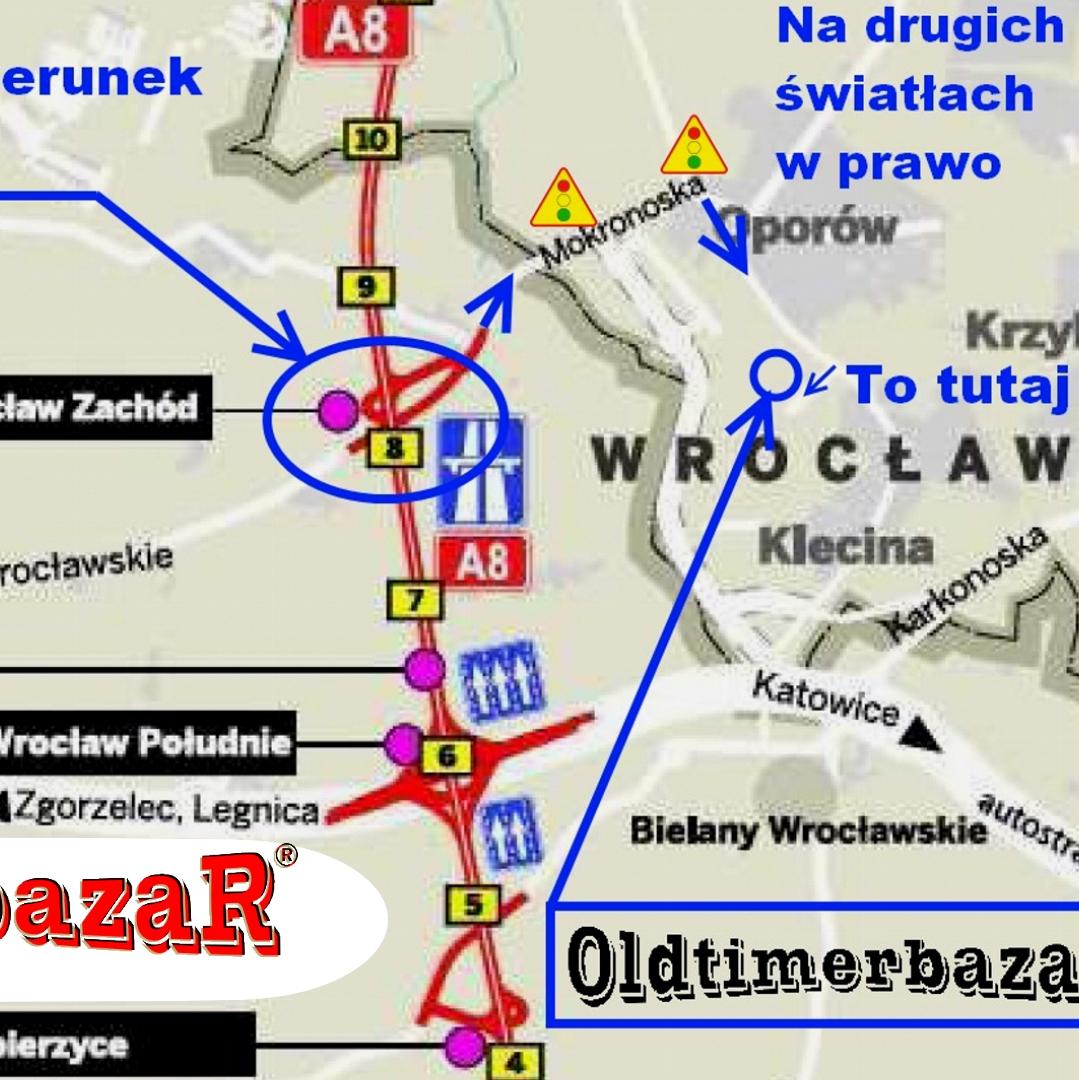 Już w niedzielę 16 czerwca OldtimerbazaR we Wrocławiu
