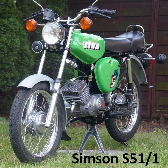 Simson S51/1 galeria fotografii