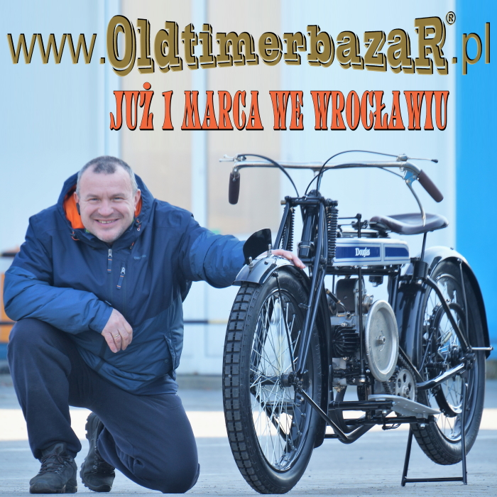 Już 1 marca OldtimerbazaR we Wrocławiu