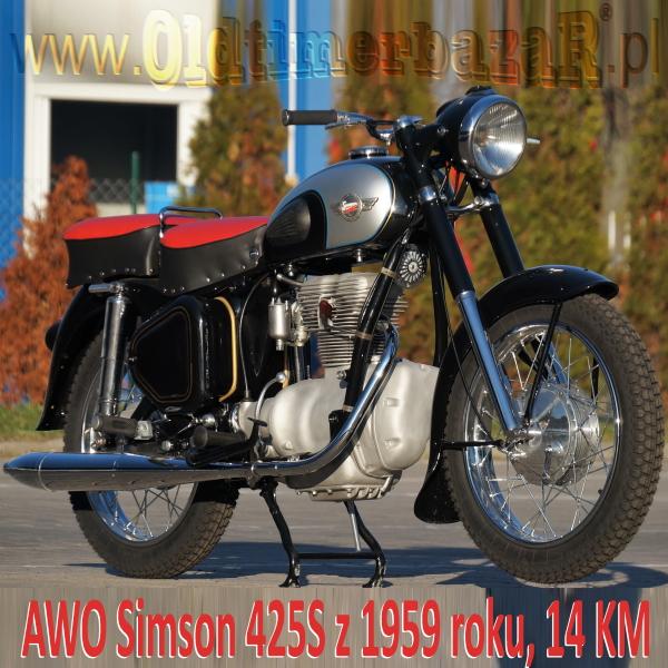 AWO Simson 425S 14KM