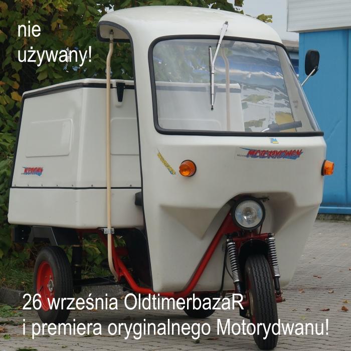 Już 26 września premiera na OldtimerbazaR'ze we Wrocławiu